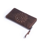Кошелек Дивали «Произведение искусства» коричневый