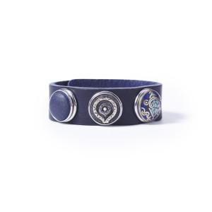 Браслет классический темно-синий кобальт