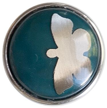 Бабочка синий перламутр
