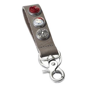 Брелок классический на 3 кнопки серый