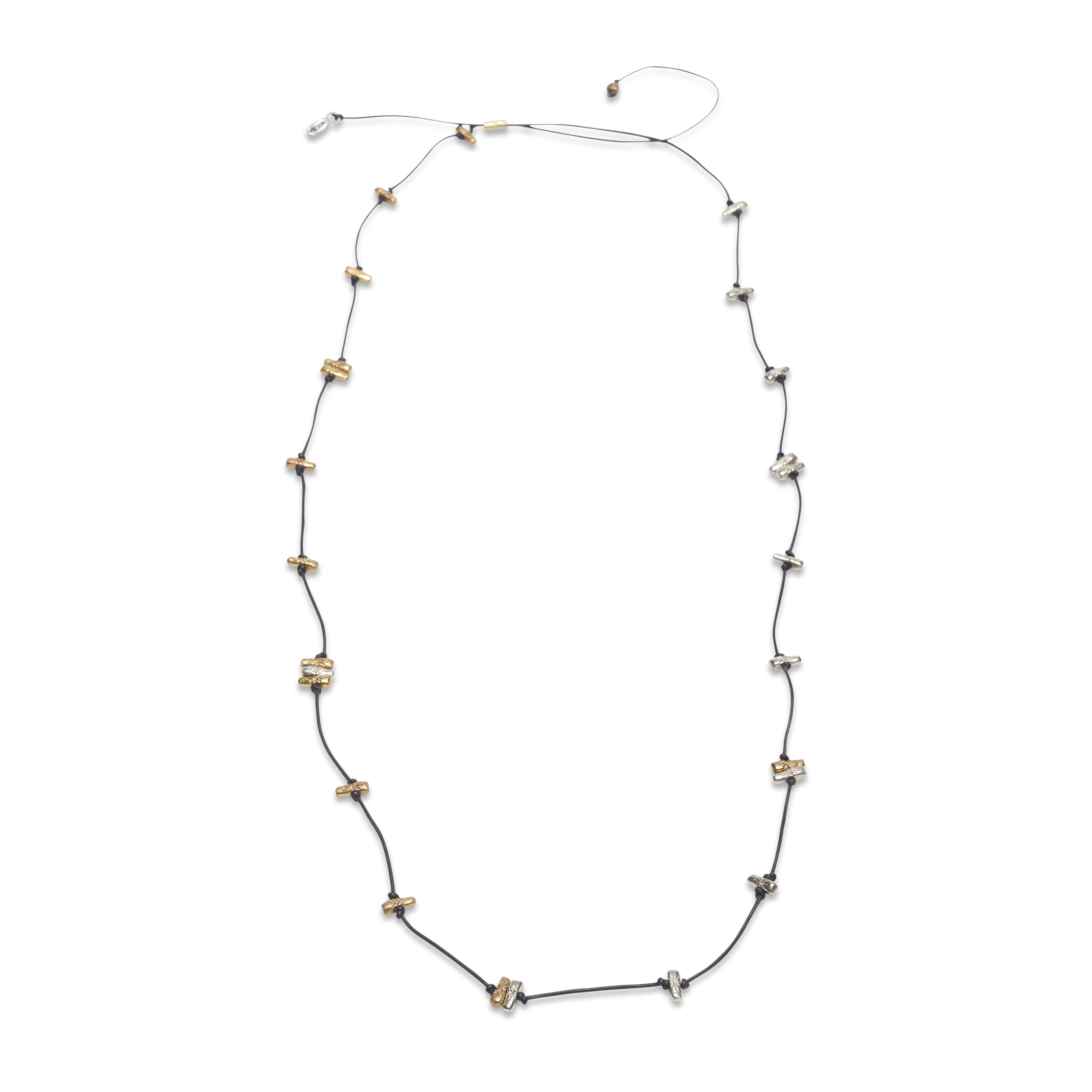 Ожерелье «Дух предков» с бусинами-символами