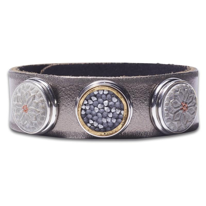 Классический браслет «Дух предков», цвет оружейного металла