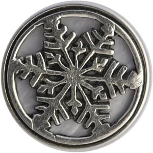 Снежинка перламутр (лимитированная коллекция)