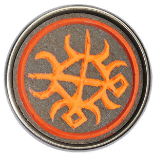 Фунтуфу оранжевый «неон»