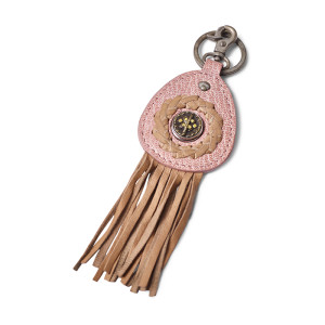 Брелок Ваби-Саби на 1 кнопку розовый