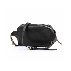 Поясная сумка черная