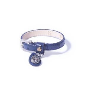 «Petite» Браслет в горошек синий