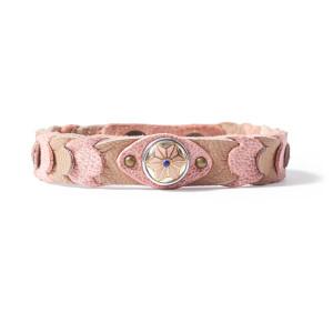 «Petite» Браслет Ваби-Саби Круг жизни розовый